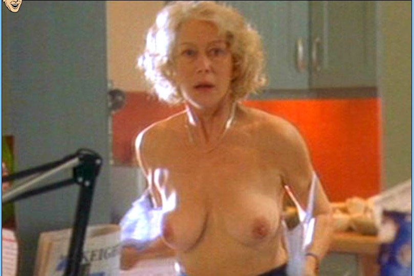 Helen mirren nude old picture 778
